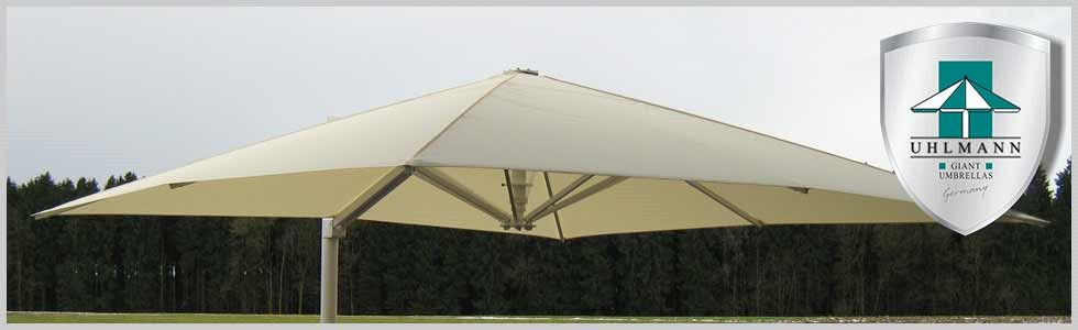 Large Patio Umbrellas - Cantilever Umbrellas