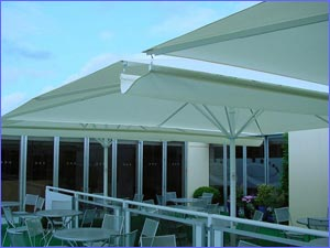 Giant Umbrella Accessories - Rain Gutters