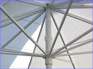 Giant Umbrellas - Type TL/TLX - Movable Hub