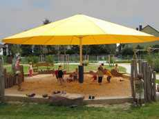 Large Patio Umbrellas for Minicipal Applications