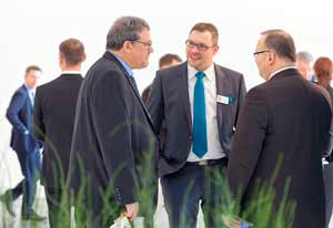 Business Meeting at the R+T Exhibit 2015 in Stuttgart